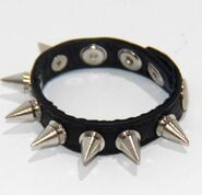 Spiked Leather Cock Ring