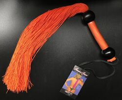 Sportsheets Large Rubber Whip Orange