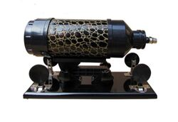 Sweetheart Cannon Sex Machine Black & Gold Large