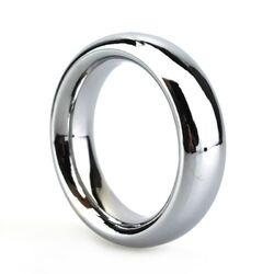 Dazzling Steel Rigid Cock Ring