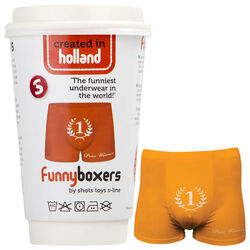 S-Line Funny Boxers Number One