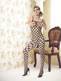 Holly Bodystocking with Box Design