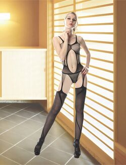 Monique Teddy Bodystocking