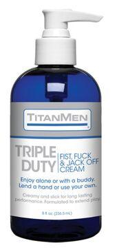 TitanMen Triple Duty Fist Fuck and Jack Off Cream 8 oz