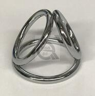 Triple Cock & Ball Divider Ring