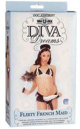 Vac-U-Lock Diva Dreams Flirty French Maid