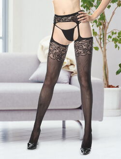 Zara Garter and Stocking Set